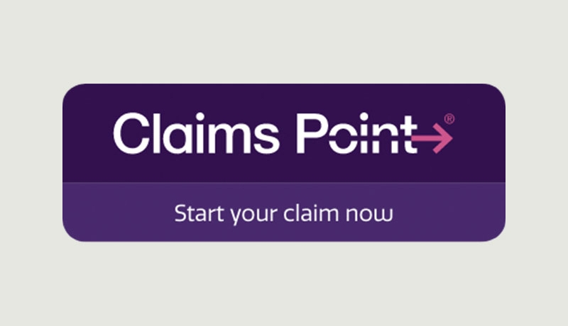 Claims Point™ Button for Your Website